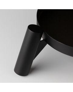 Unterschale für Holzbeine - Schwarz